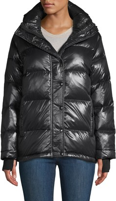 S13 S 13/Nyc Quilted Hooded Down Jacket