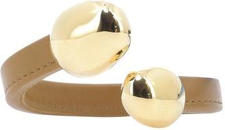 Bottega Veneta Brass Stoppers Cuff Bracelet