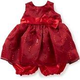 Jayne Copeland Baby Girls 12-24 Months Glitter-Accented Taffeta Dress