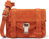 Proenza Schouler The Ps1 Mini Suede Satchel - Camel