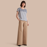 Burberry Breton Stripe Cotton T-shirt