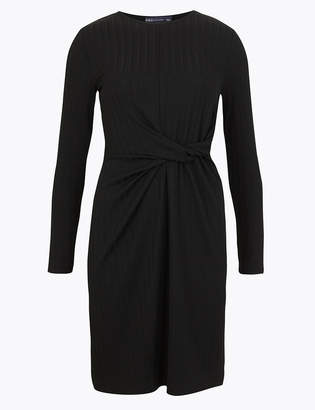 Marks and Spencer Ribbed Jersey Bodycon Mini Dress