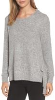 Gibson Women's Side-Tie Fleece Pullover