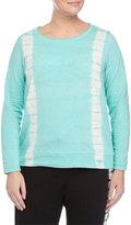 Andrew Marc Pullover Tie-Dye Top, Lagoon, Women's