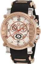 Brillier Men's 02.4.3.4.11.09 Grand Master Tourer Dial Black Rubber Watch