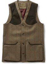 Musto Shooting - Checked Tweed Stretch-Wool Gilet