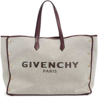 Givenchy Large Canvas & Leather Shopper