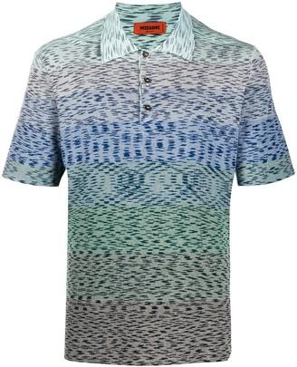 Missoni Stripe Detail Polo Shirt