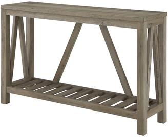 Hewson 52In Modern Farmhouse Entryway Table