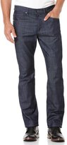 Perry Ellis Slim Fit Crossover Needle Denim