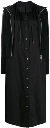 Sacai Button Up Shirt Dress
