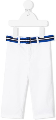 Ralph Lauren Kids Skinny-fit Belted Chino trousers