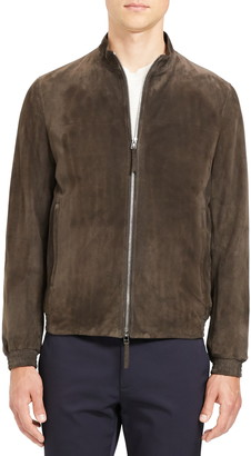 Theory Tremont Suede Jacket