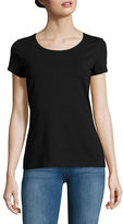 Lord & Taylor Organic Cotton Scoopneck Tee