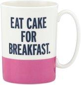 Kate Spade Things We Love Eat Cake for Breakfast Mug