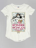 Junk Food Clothing Kids Girls Wonder Woman Tee-sugar-xl