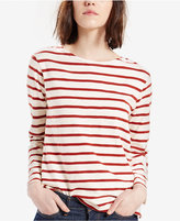Levi's Striped Crew-Neck Top