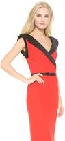 L'Wren Scott Sleeveless Sheath Dress with Belt