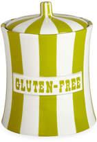 Jonathan Adler Vice Canister - Gluten Free - Lime/White