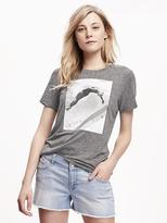 Old Navy Olympic Diver Graphic Tee for Women