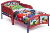 Delta Children Plastic Toddler Bed, Mickey Mouse
