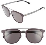 BOSS Men's 838/s 52Mm Sunglasses - Burgundy/ Ruthenium