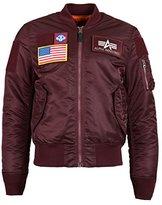 Alpha Industries Men's MA-1 Flex Slim Fit Bomber Flight Jacket