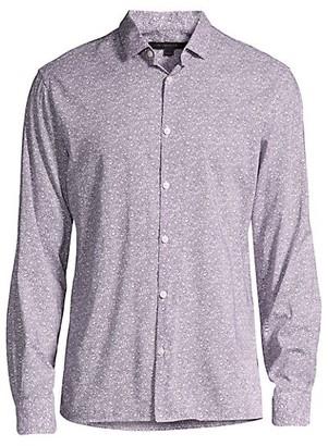 John Varvatos Ross Slim-Fit Floral Sport Shirt