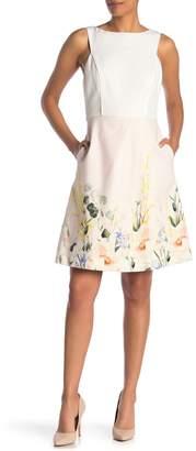 Ted Baker Kalla Elegance Colorblock Dress