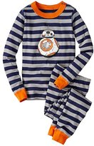 Kids Star WarsTM Long John Pajamas In Organic Cotton