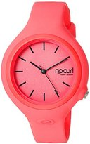 Rip Curl Women's 'Aurora' Quartz Plastic and Polyurethane Sport Watch, Color:Pink (Model: A2696G-PEA)