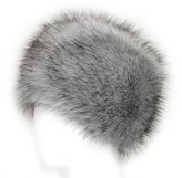 Futrzane Faux Fur Cossak Russian Style Hat for Ladies Winter Hat for Women