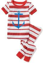 Old Navy Striped Anchor-Graphic Sleep Set For Toddler & Baby