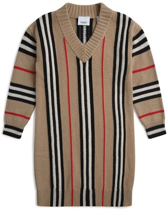 Burberry Kids Icon Stripe Knit Dress (3-12 Years)