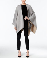 Calvin Klein Reversible Solid Poncho