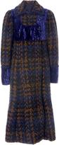 Anna Sui Chunky Tweed Coat