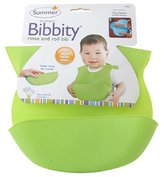 Summer Infant Born Free Bibbity Green - 1 Bib, Pack of 2 (colors may vary)