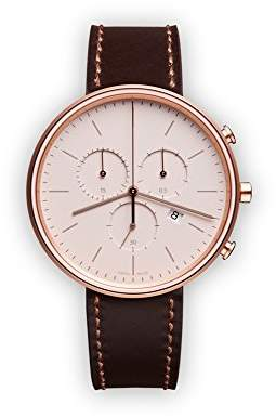 Uniform Wares M40 Swiss Quartz Stainless Steel and Leather Watch