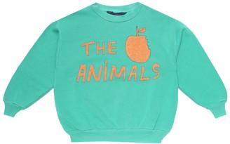 The Animals Observatory Apple cotton-jersey sweatshirt