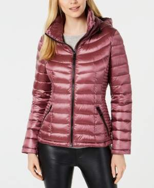 Calvin Klein Packable Down Puffer Coat, Created for Macy's