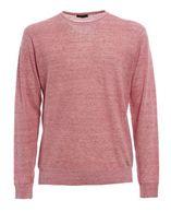 Z Zegna Melange Linen And Cotton Sweater