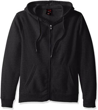 Southpole Men's Active Basic Hooded Fleece Full Zip