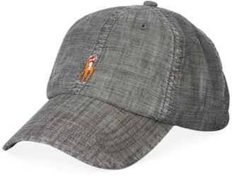 Polo Ralph Lauren Chambray Embroidered Pony Sport Cap