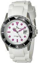 Lucien Piccard Women's LP-12883-02-MAGA Vaux Analog Display Japanese Quartz White Watch