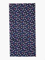 Talbots Clip Dot Printed Woven Scarf