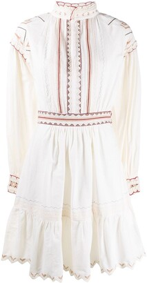 Etro Embroidered Flared Dress