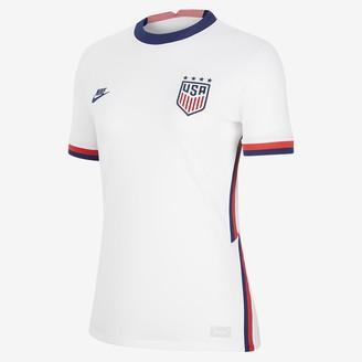 Nike Women's Soccer Jersey U.S. 2020 Stadium Home (4-Star)