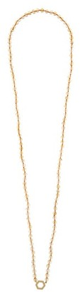 Harwell Godfrey Citrine & 18kt Gold Necklace - Yellow