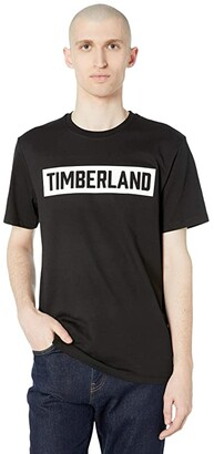 Timberland Brook 3-D Embossed T-Shirt (Black) Men's T Shirt