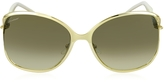 Gucci GG 4250/S J5GED Marina Chain Women's Sunglasses
